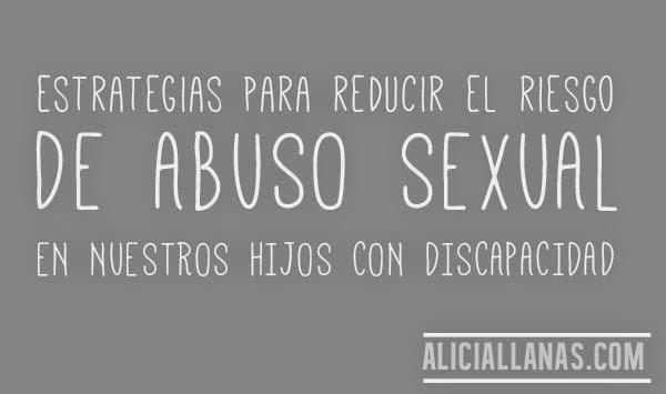 estrategias reducir abuso sexual