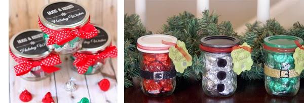 Qu regalar en navidad y que se pueda comer alicia llanas for Frascos decorados para navidad