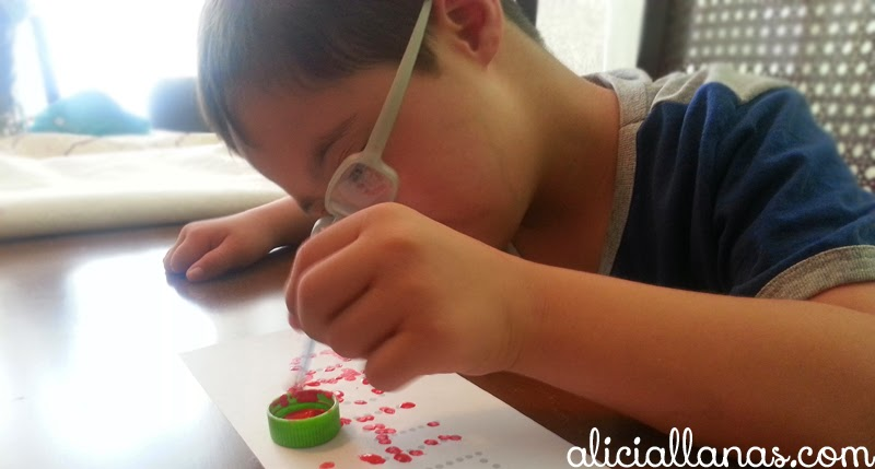 Motricidad Fina niño con síndrome de Down