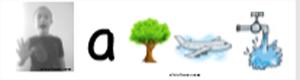 idea material trabajar fonemas letras en niños con problemas