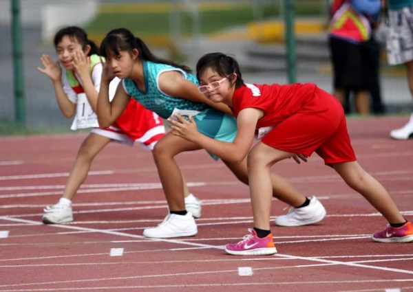 atletismo síndrome de Down